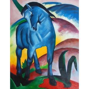 "Franz Marc - ""Blue Horse I"", 1911"