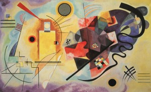 "Wassily Kandinsky - ""Yellow-Red-Blue"" 1925"